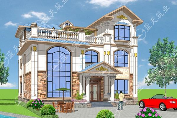 回家建欧式房子