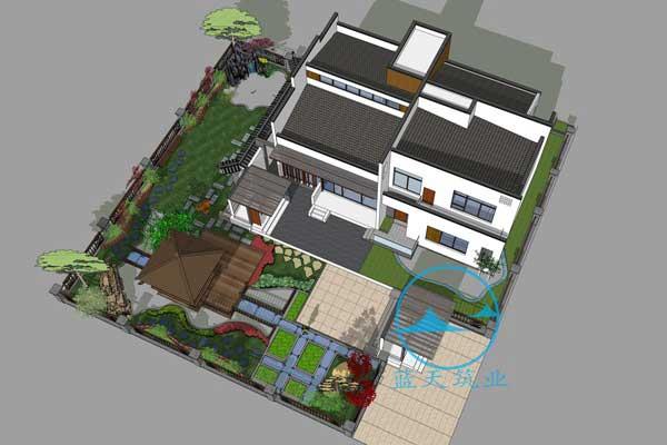 中江自建别墅庭院设计