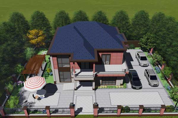 广安自建别墅花园设计案例