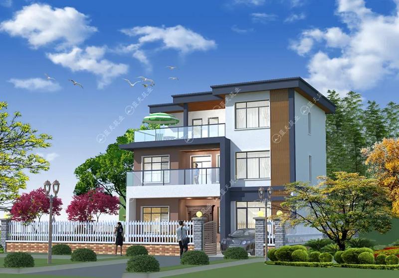 农村占地面积小的现代农村自建房设计图推荐