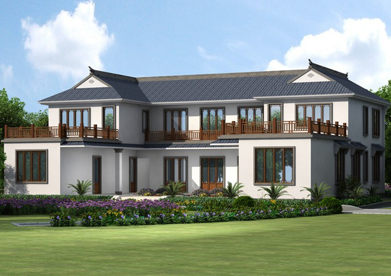 农村新中式合院自建房设计图